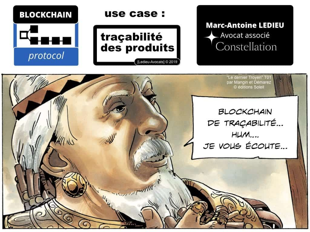 Blockchain à quoi ça sert ? la traçabilité !