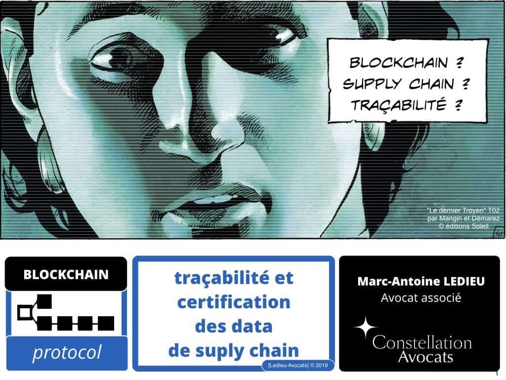 Blockchain de certification et de traçabilité ?