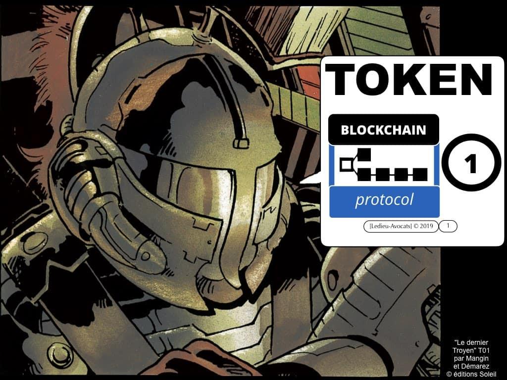 blockchain TOKEN et jeton / valeur numérique – loi PACTE 2019