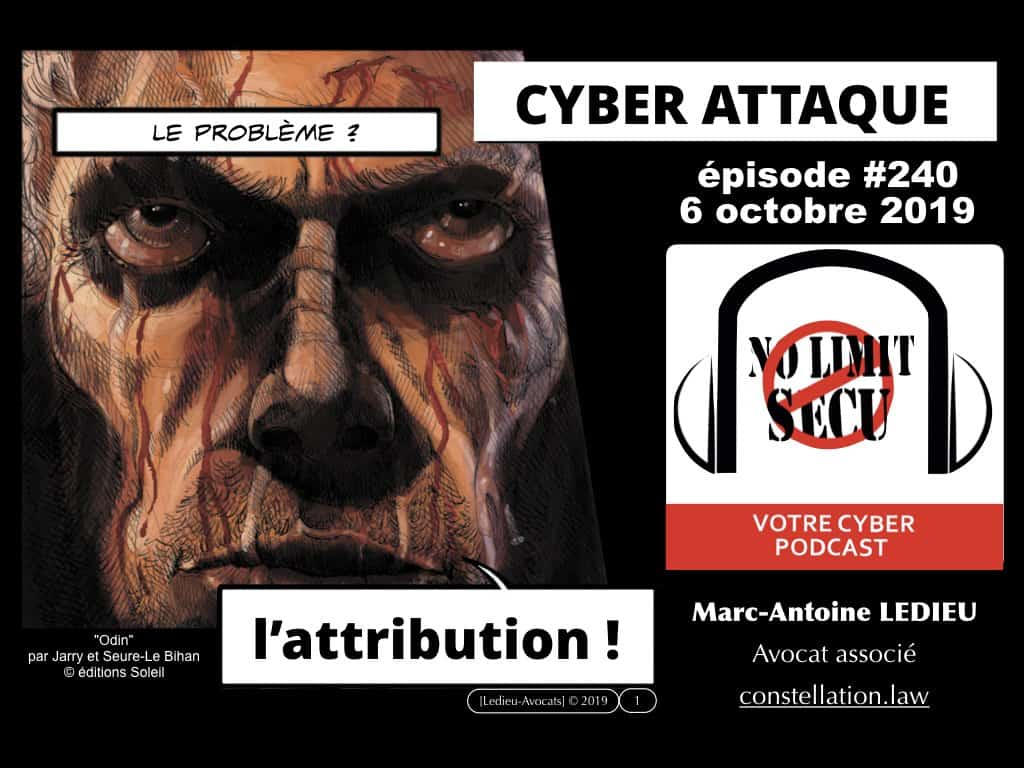 l'attribution des cyber-attaques [PODCAST No Limit Secu 6 octobre 2019]