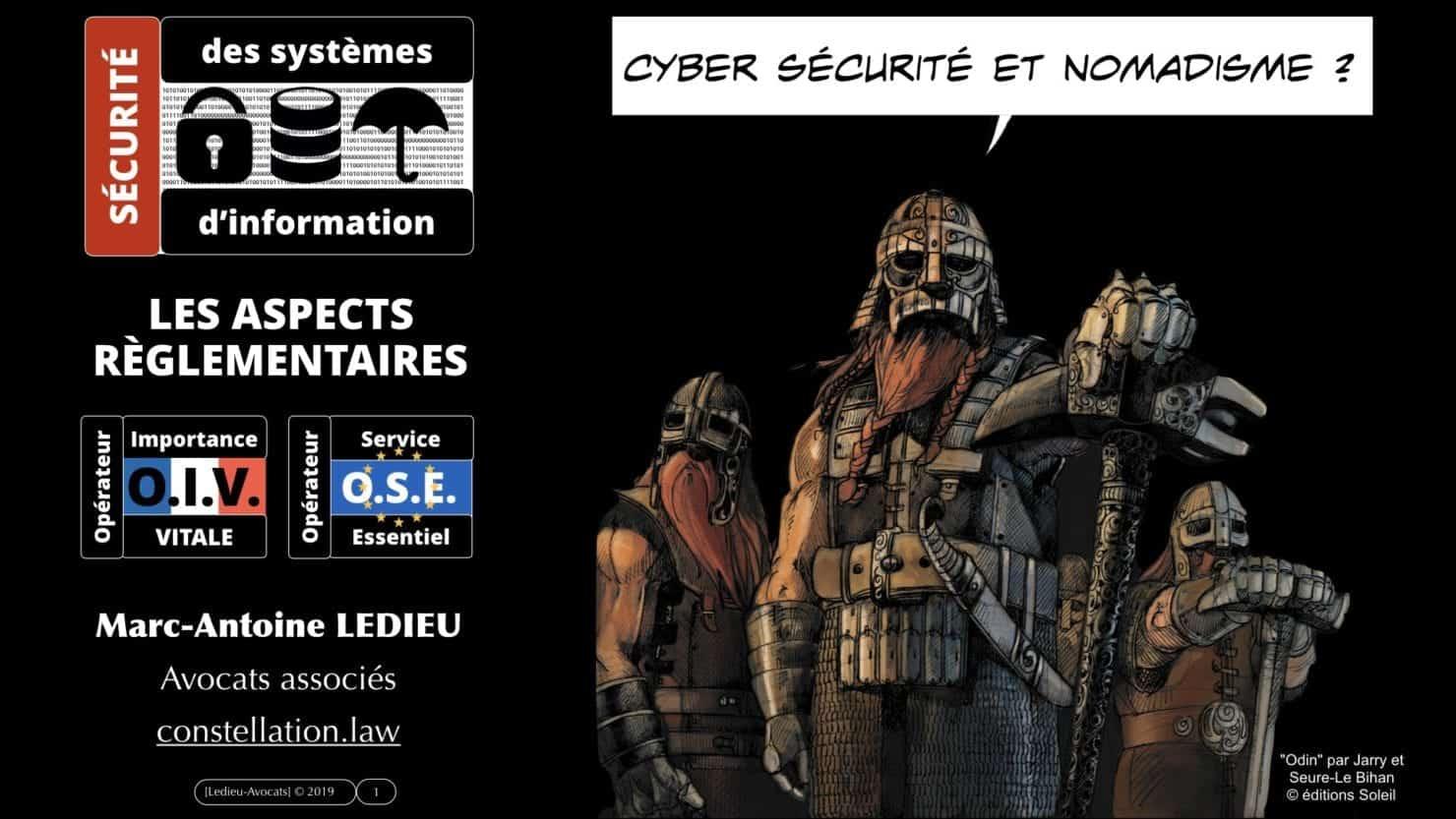 nomadisme et sécurité des systèmes d'information : les contraintes règlementaires OIV-OSE [conférence CLOUD EXPO EUROPE 27 novembre 2019]
