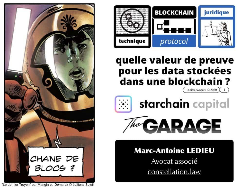 blockchain et preuve en 2020 ? [conférence Starchain Capital TheGarage 28 janvier 2020]