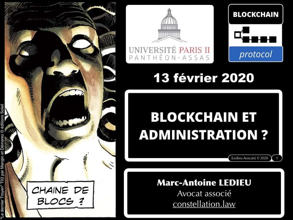 Blockchain et Administration ? Conférence Paris II Panthéon-Assas