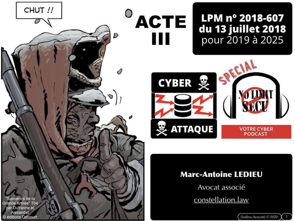 LPM 2018 et marqueurs techniques [podcast No Limit Secu 23 mars 2020]