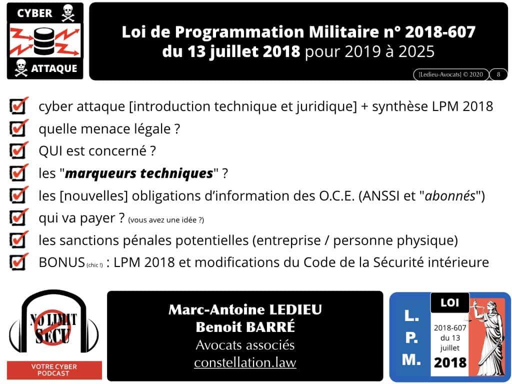 #2-LPM-2018-et-MARQUEURS TECHNIQUES-NoLimitSecu-CYBER-attaque-OIV-OSE-Operateur-Communication-Electronique-CPCE-LCEN-Constellation©Ledieu-Avocats-02-01-2020.008