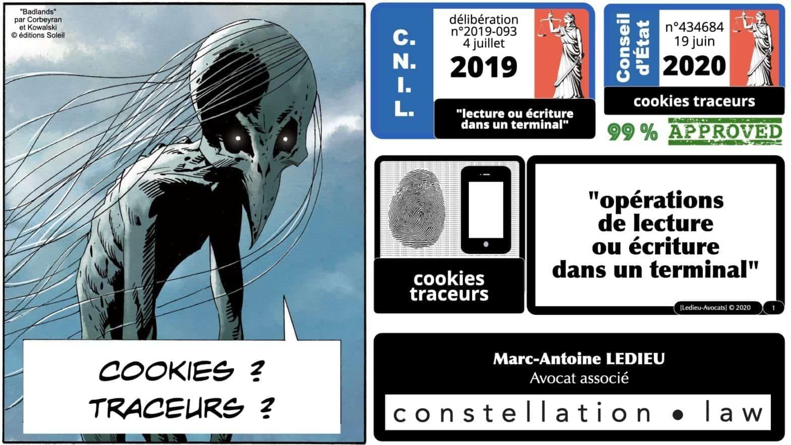 cookies traceurs ? analyse Conseil d'Etat 19 juin 2020
