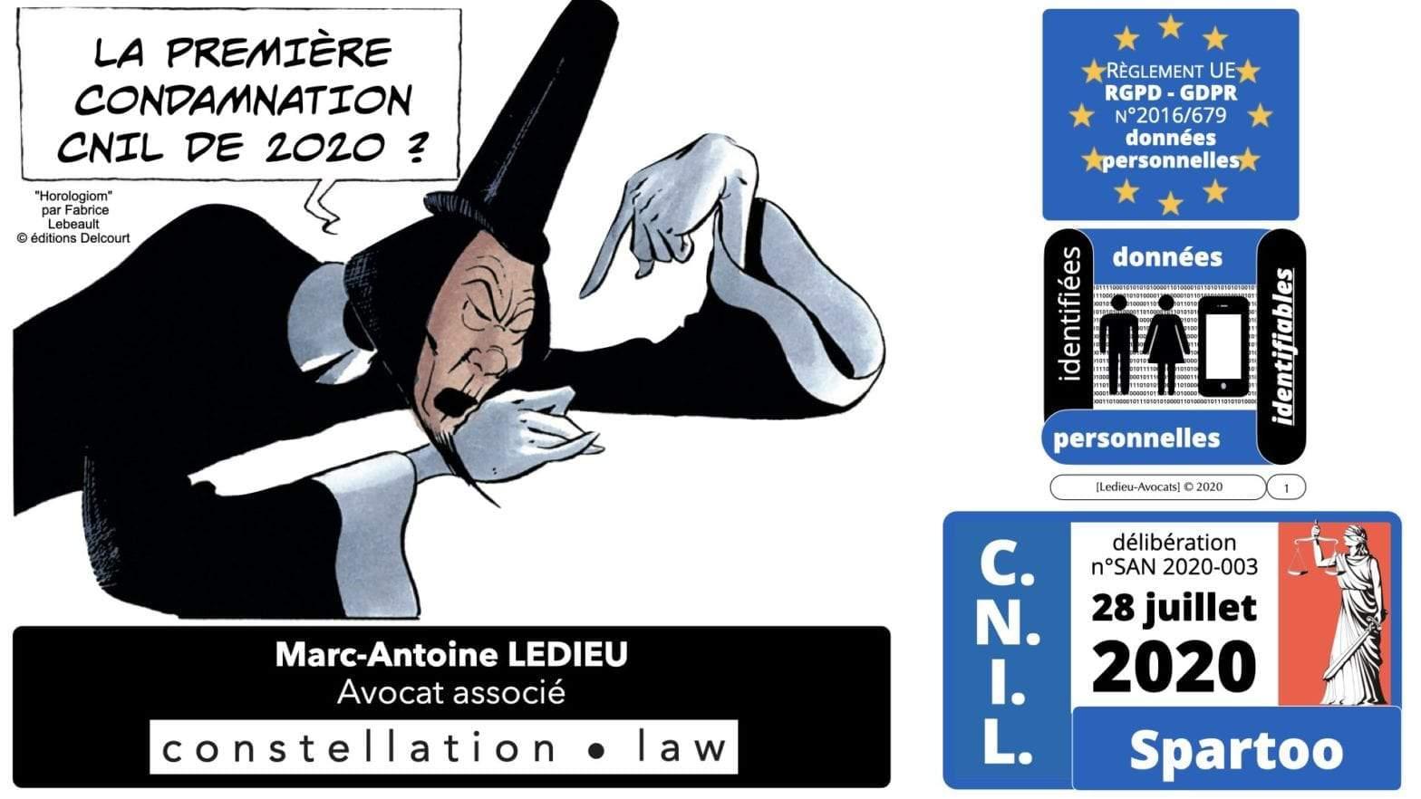 délibération CNIL Spartoo du 28 juillet 2020 : analyse et commentaires