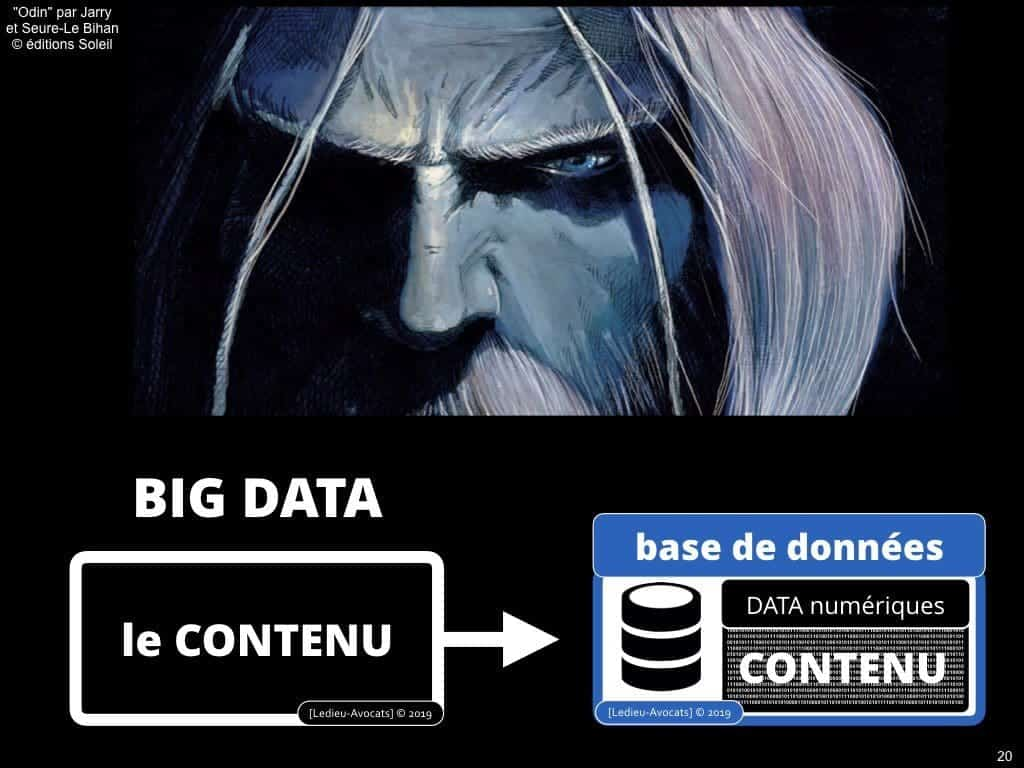 Le droit du BIG DATA expliqué en BD [colloque ACPR 21 mars 2019]