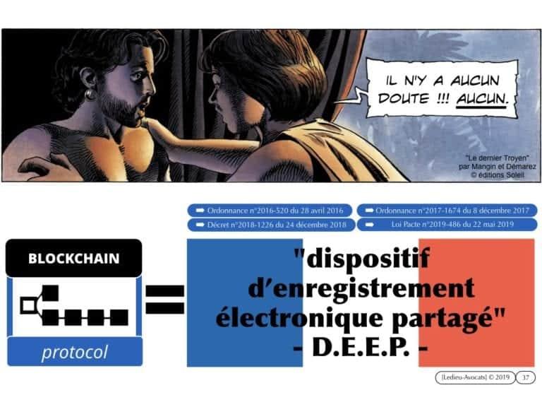 263-1-protocole-BLOCKCHAIN-TOKEN-jeton-valeur-numerique-loi-PACTE-du-22-mai-2019-DEEP-dispositif-dechange-electronique-partage-Constellation©Ledieu-Avocats-29-09-2019-.037