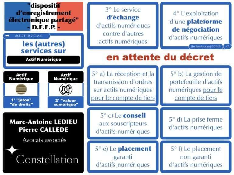 263-1-protocole-BLOCKCHAIN-TOKEN-jeton-valeur-numerique-loi-PACTE-du-22-mai-2019-DEEP-dispositif-dechange-electronique-partage-Constellation©Ledieu-Avocats-29-09-2019-.047