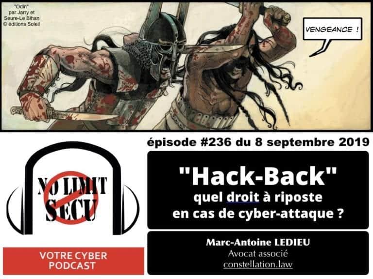 263-CYBER-SECURITE-Hack-Back-quel-droit-à-riposte-en-cas-de-cyber-attaque-PODCAST-cyber-sécurité-No-Limit-Secu-8-septembre-2019-Constellation©Ledieu-Avocats-20-12-2019.001