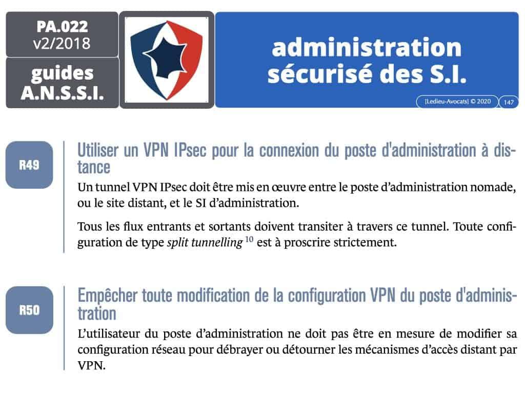 CYBER sécurité du réseau d'administration du système d'information