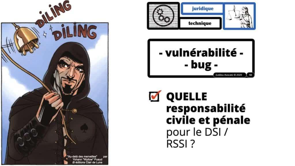 293-Vulnérabilité-bug-négligence-et-responsabilité-des-DSI-RSSI-conférence-OSSIR-169°-©-Ledieu-Avocats-09-06-2020.098-1280x720