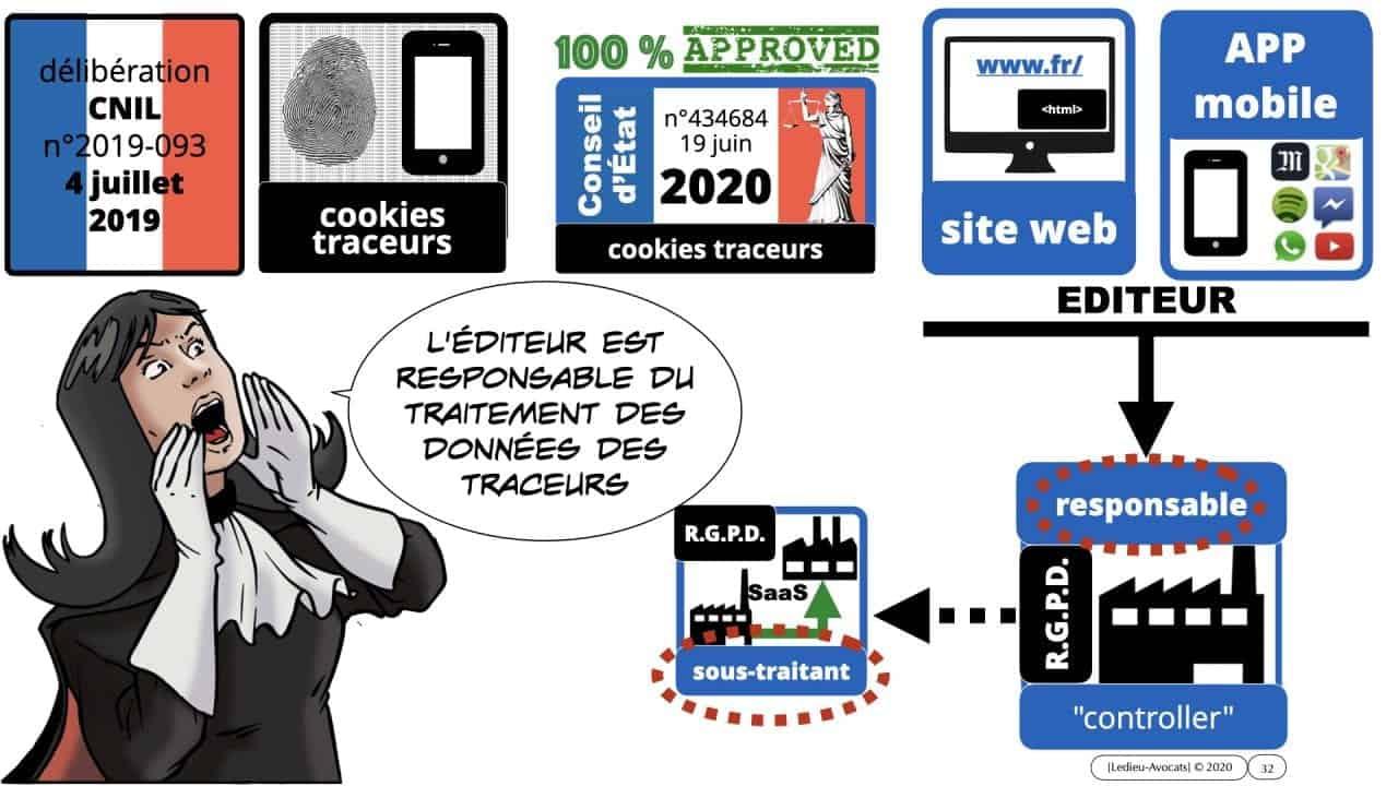 Conseil d'Etat cookies traceurs