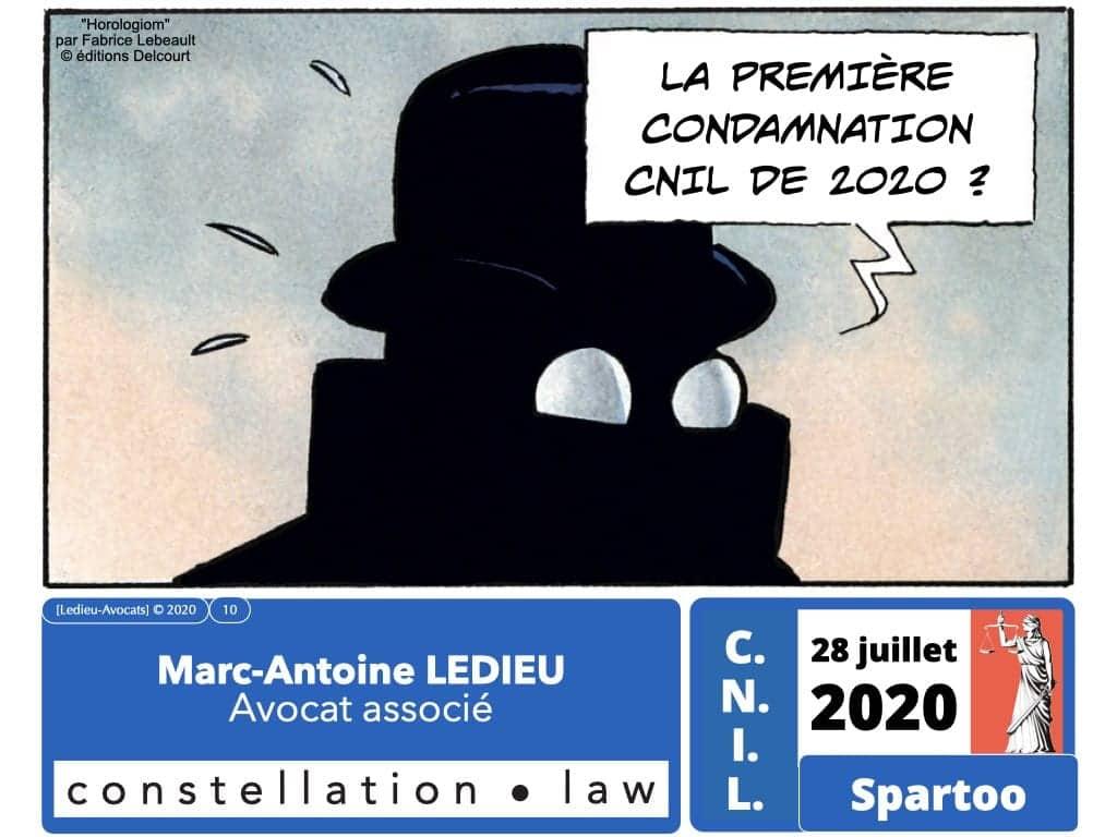 délibération CNIL SPARTOO du 28 juillet 2020 n°SAN 2020-003 ©Ledieu-Avocats 17-08-2020.0