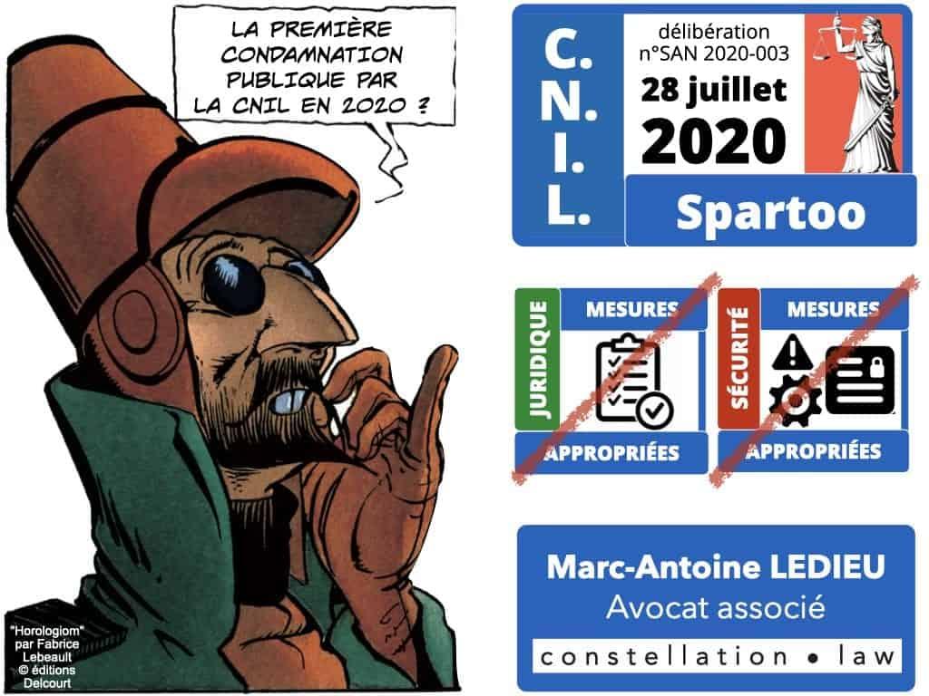 délibération CNIL SPARTOO du 28 juillet 2020