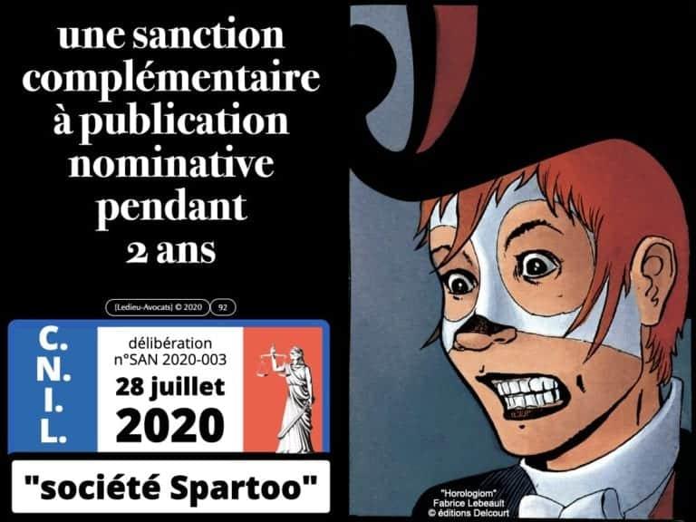 RGPD déliberation CNIL SPARTOO publication