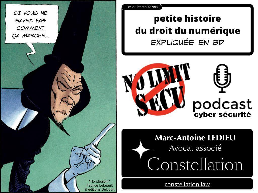 le droit du numérique en BD ? podcast NoLimitSecu