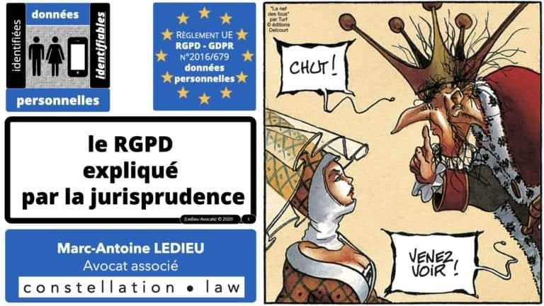 306 RGPD et jurisprudence e-Privacy données-personnelles 16:9 ©Ledieu-Avocats 05-10-2020 formation Les Echos Lamy Conference.001