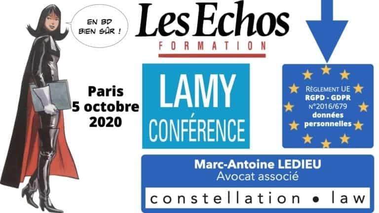 306 RGPD et jurisprudence e-Privacy données-personnelles 16:9 ©Ledieu-Avocats 05-10-2020 formation Les Echos Lamy Conference.002