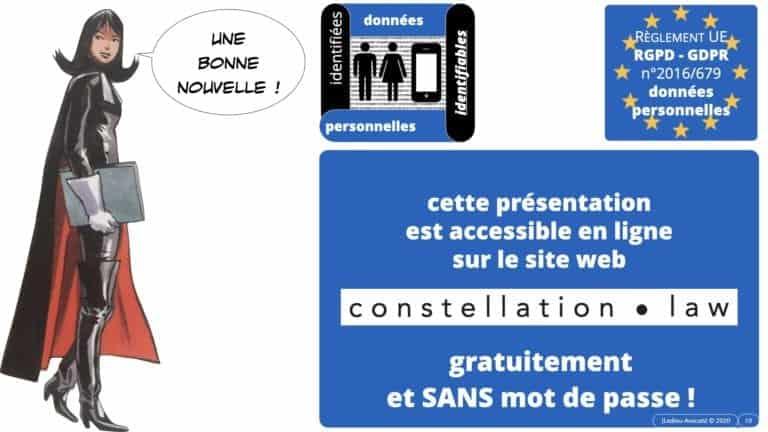 306 RGPD et jurisprudence e-Privacy données-personnelles 16:9 ©Ledieu-Avocats 05-10-2020 formation Les Echos Lamy Conference.010