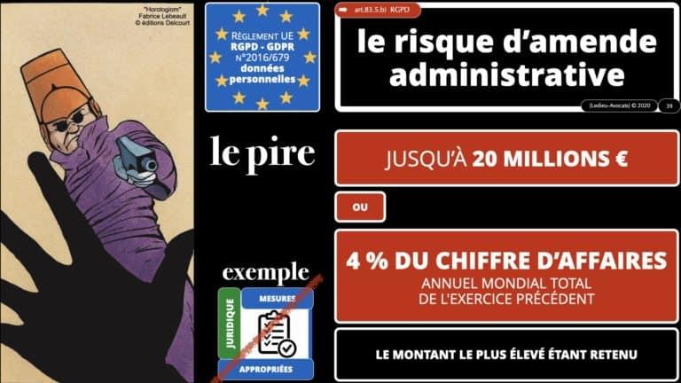 306 RGPD et jurisprudence e-Privacy données-personnelles 16:9 ©Ledieu-Avocats 05-10-2020 formation Les Echos Lamy Conference.039