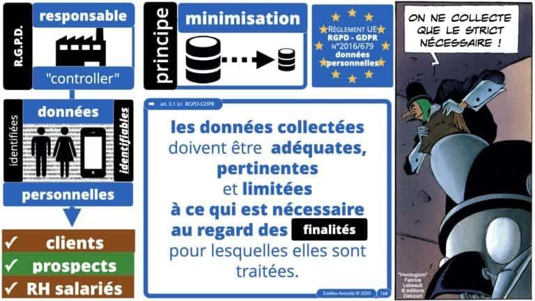 306 RGPD et jurisprudence e-Privacy données-personnelles 16:9 ©Ledieu-Avocats 05-10-2020 formation Les Echos Lamy Conference.168