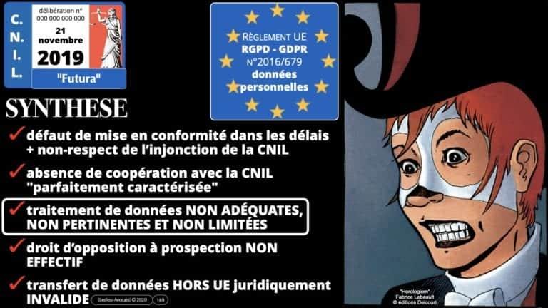 306 RGPD et jurisprudence e-Privacy données-personnelles 16:9 ©Ledieu-Avocats 05-10-2020 formation Les Echos Lamy Conference.169