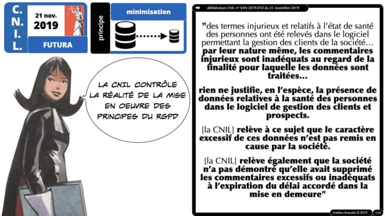 306 RGPD et jurisprudence e-Privacy données-personnelles 16:9 ©Ledieu-Avocats 05-10-2020 formation Les Echos Lamy Conference.170