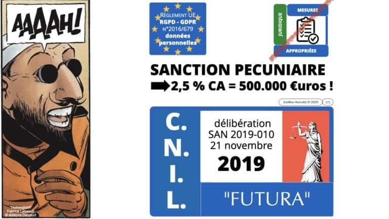 306 RGPD et jurisprudence e-Privacy données-personnelles 16:9 ©Ledieu-Avocats 05-10-2020 formation Les Echos Lamy Conference.171