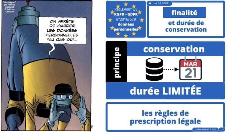 306 RGPD et jurisprudence e-Privacy données-personnelles 16:9 ©Ledieu-Avocats 05-10-2020 formation Les Echos Lamy Conference.177