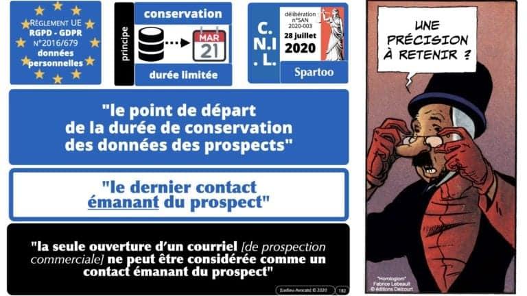 306 RGPD et jurisprudence e-Privacy données-personnelles 16:9 ©Ledieu-Avocats 05-10-2020 formation Les Echos Lamy Conference.182