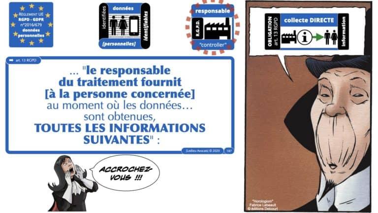 306 RGPD et jurisprudence e-Privacy données-personnelles 16:9 ©Ledieu-Avocats 05-10-2020 formation Les Echos Lamy Conference.187