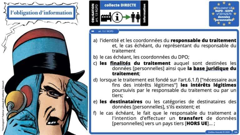 306 RGPD et jurisprudence e-Privacy données-personnelles 16:9 ©Ledieu-Avocats 05-10-2020 formation Les Echos Lamy Conference.188