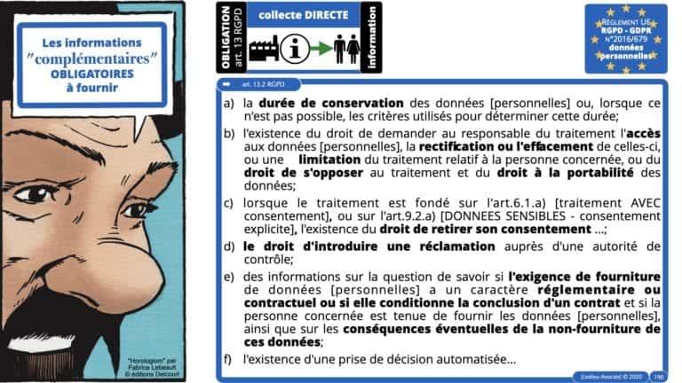 306 RGPD et jurisprudence e-Privacy données-personnelles 16:9 ©Ledieu-Avocats 05-10-2020 formation Les Echos Lamy Conference.190