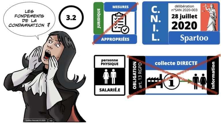306 RGPD et jurisprudence e-Privacy données-personnelles 16:9 ©Ledieu-Avocats 05-10-2020 formation Les Echos Lamy Conference.193