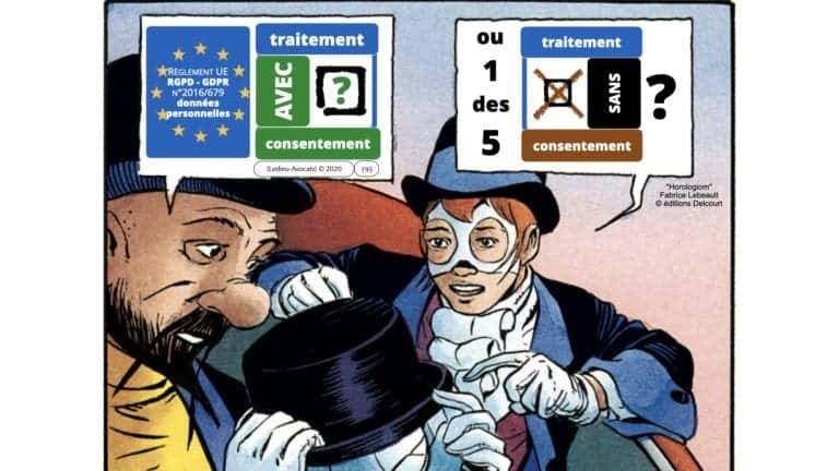 306 RGPD et jurisprudence e-Privacy données-personnelles 16:9 ©Ledieu-Avocats 05-10-2020 formation Les Echos Lamy Conference.195