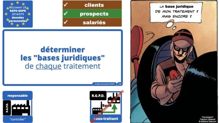 306 RGPD et jurisprudence e-Privacy données-personnelles 16:9 ©Ledieu-Avocats 05-10-2020 formation Les Echos Lamy Conference.196