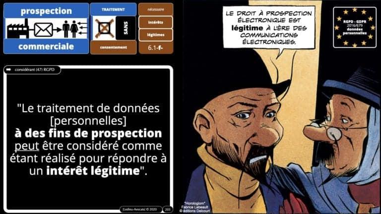 306 RGPD et jurisprudence e-Privacy données-personnelles 16:9 ©Ledieu-Avocats 05-10-2020 formation Les Echos Lamy Conference.203