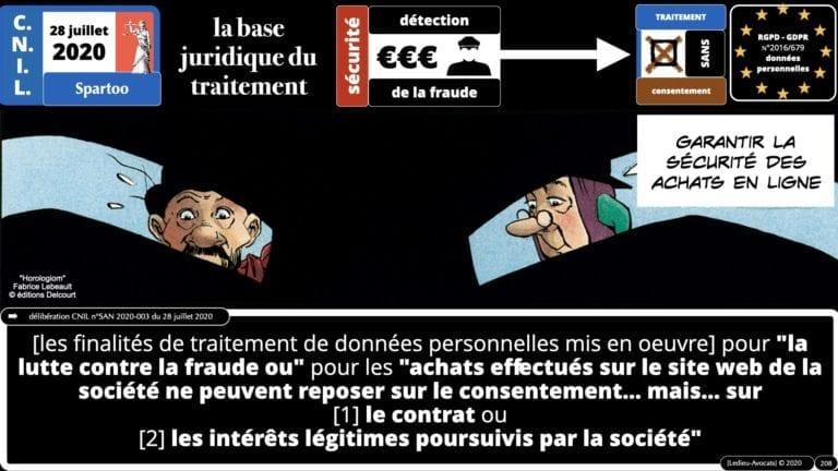 306 RGPD et jurisprudence e-Privacy données-personnelles 16:9 ©Ledieu-Avocats 05-10-2020 formation Les Echos Lamy Conference.208