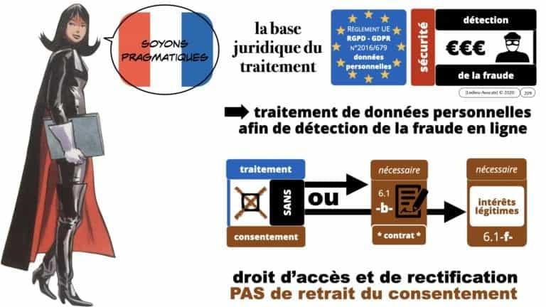 306 RGPD et jurisprudence e-Privacy données-personnelles 16:9 ©Ledieu-Avocats 05-10-2020 formation Les Echos Lamy Conference.209