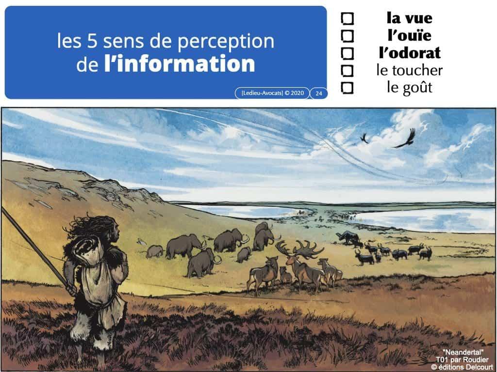 les 5 sens de perception de l'information (sans encodage ni transport)