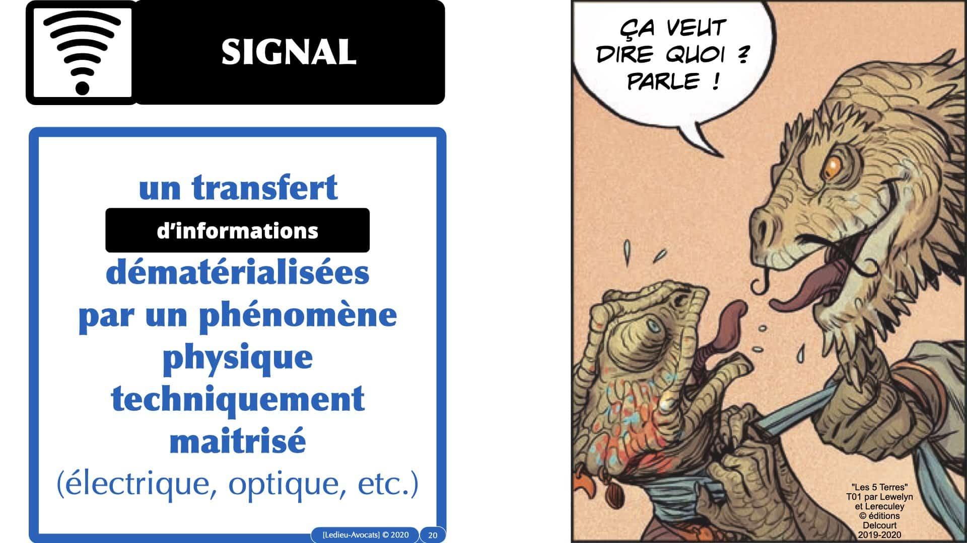 message support signal définition technique