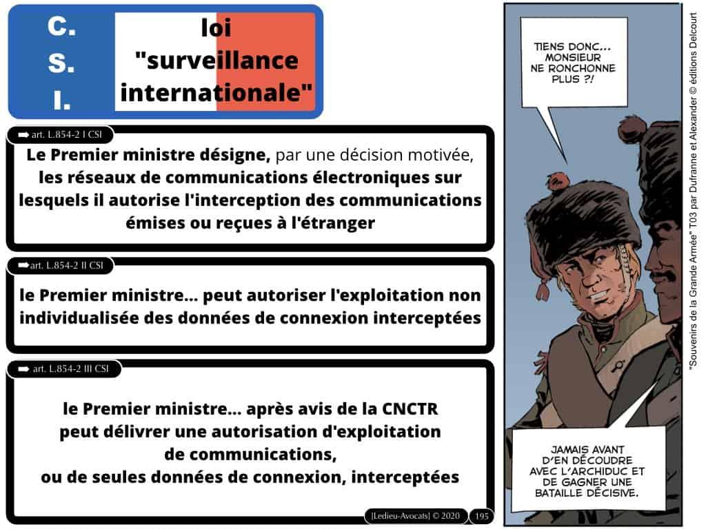 LPM 2018 marqueurs technique et loi Surveillance Internationale