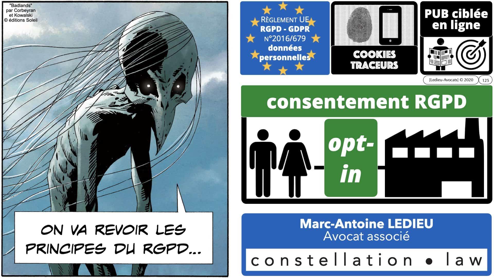 RGPD e-Privacy données personnelles jurisprudence formation Lamy Les Echos 10-02-2021 ©Ledieu-Avocats.125