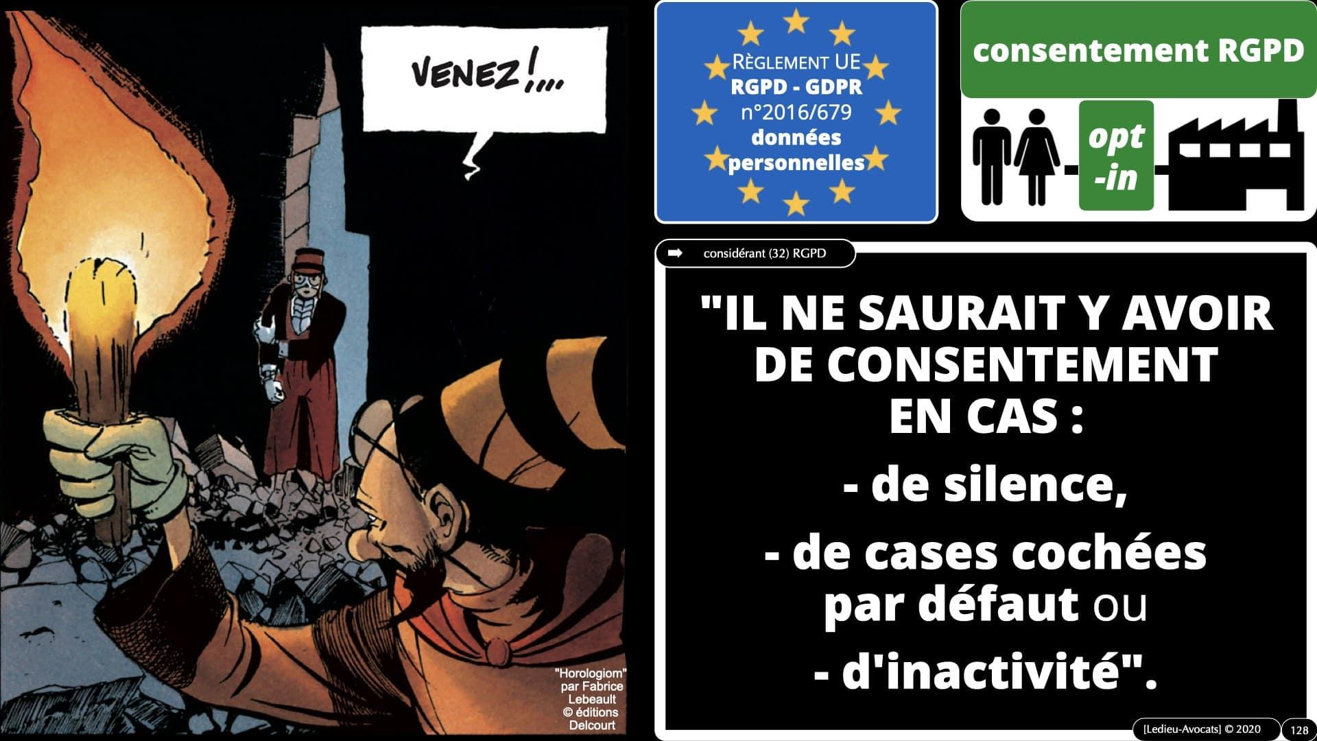 RGPD e-Privacy données personnelles jurisprudence formation Lamy Les Echos 10-02-2021 ©Ledieu-Avocats.128