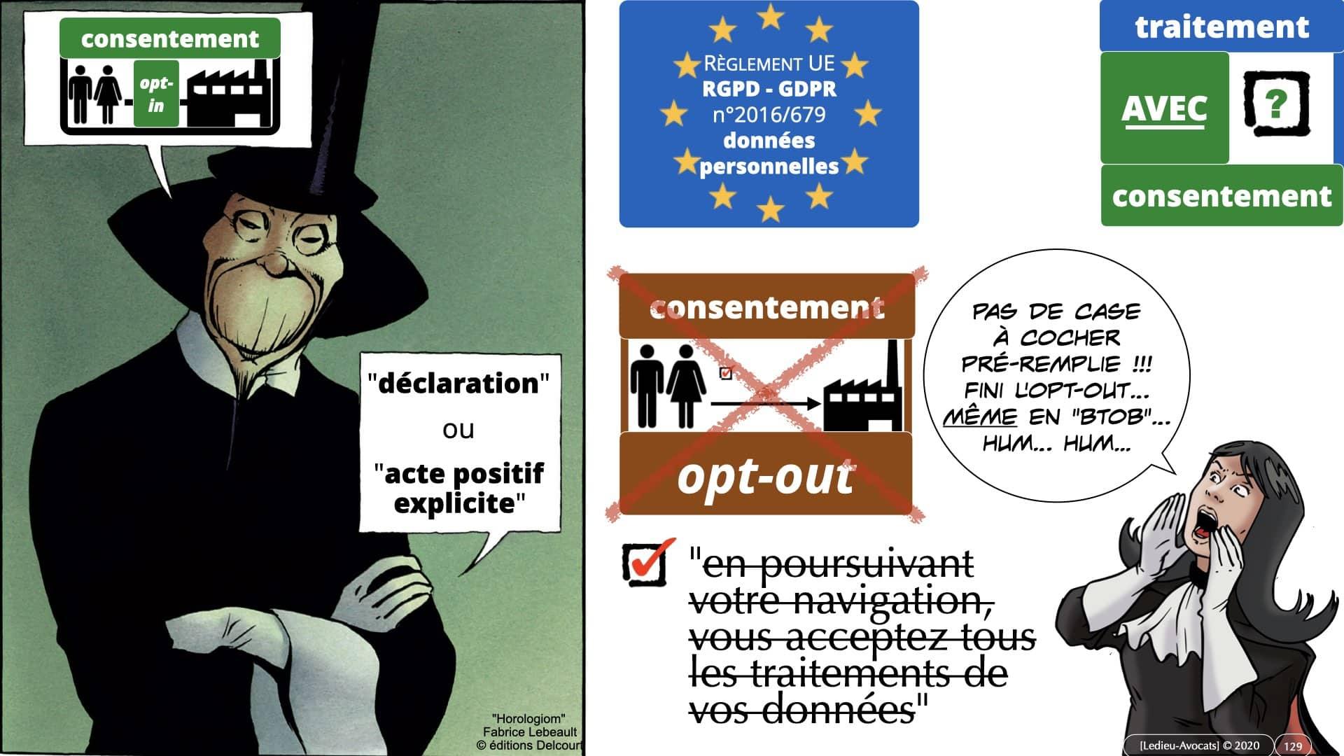 RGPD e-Privacy données personnelles jurisprudence formation Lamy Les Echos 10-02-2021 ©Ledieu-Avocats.129