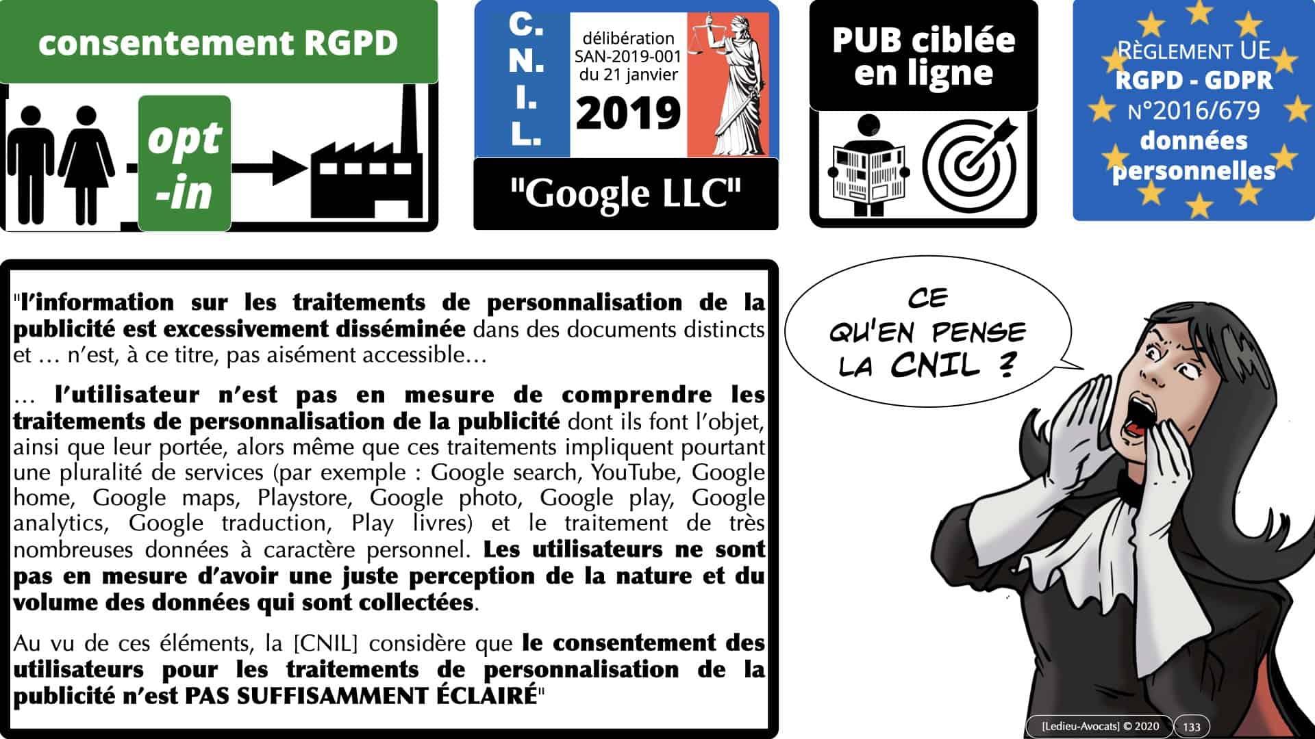 RGPD e-Privacy données personnelles jurisprudence formation Lamy Les Echos 10-02-2021 ©Ledieu-Avocats.133