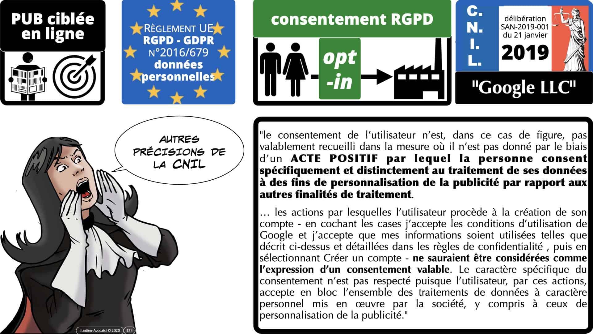 RGPD e-Privacy données personnelles jurisprudence formation Lamy Les Echos 10-02-2021 ©Ledieu-Avocats.134