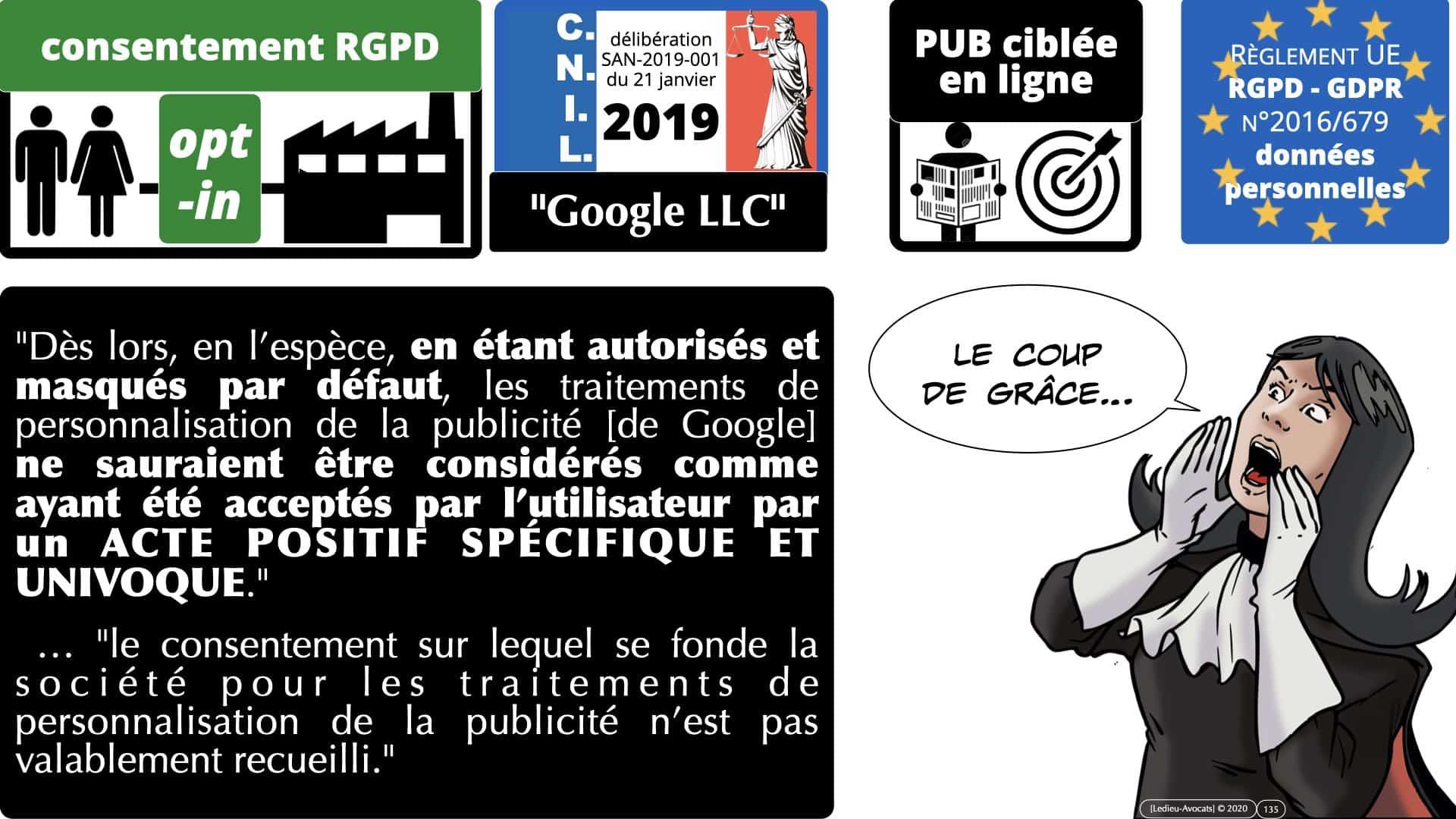 RGPD e-Privacy données personnelles jurisprudence formation Lamy Les Echos 10-02-2021 ©Ledieu-Avocats.135
